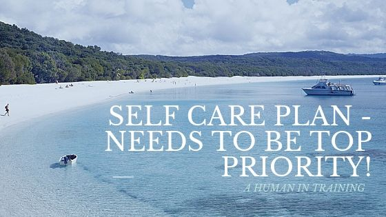 a beautiful blue beach, an integral part of a self care plan