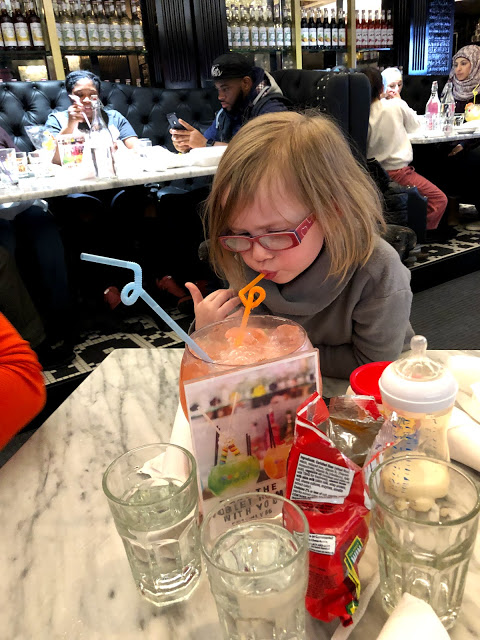 Child at Sugar Factory Chicago during The Best Of Chicago With Mini Humans