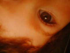His sweet little eyeball.