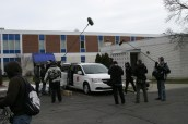 Shooting outside the Salvation Army Corps in Grand Rapids