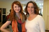 Me and actress Laura Spencer as Kasey Dalt