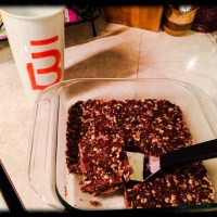 Dark Chocolate Donut Holes & Barre3 Energy Bars