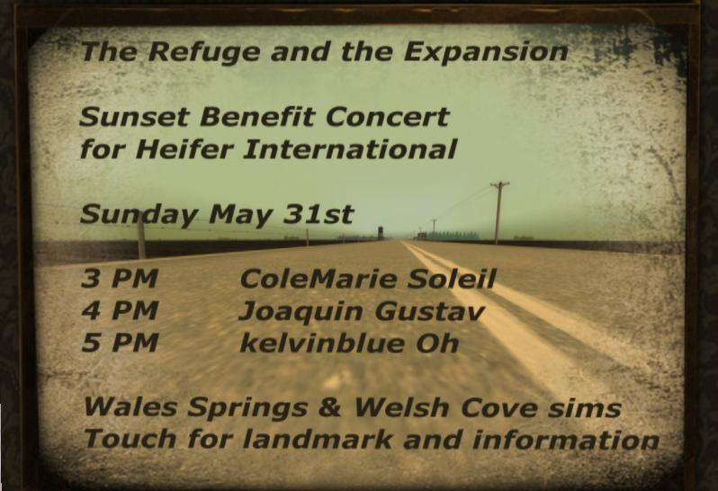 Sunset Benefit Concert