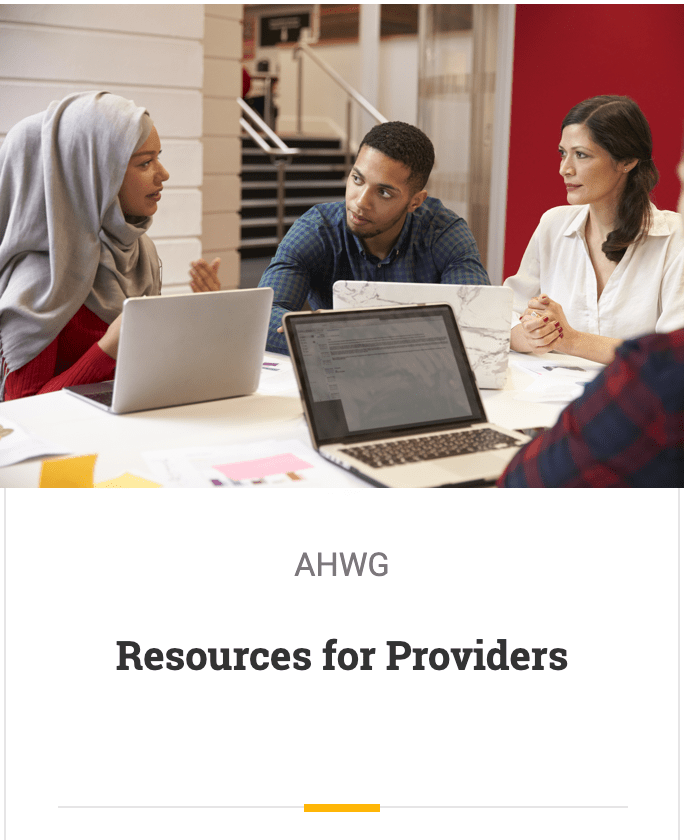 Resources For Providers