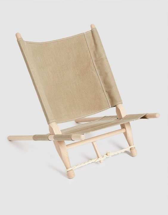 Skovshoved Møbelfabrik : OGK Safari Chair in Natural 01
