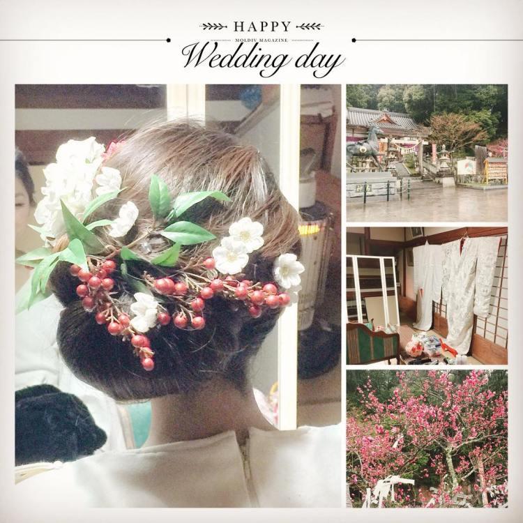 和泉市の春日神社にて、新郎新婦様のお支度させていただきました。社務所の一室をお借りさせていただきました。境内には梅の花も咲き、和傘をさす雨の日ならではの風景も素敵でした。#和泉市 #神社挙式 #和婚 #白無垢 #春日神社 #ブライダルフォト #ウエディングフォト #花嫁 #プレ花嫁 #wedding #洋髪 #ヘアメイク #着付け #aider #和婚をもっと盛り上げたい #bride #hairstyle #bridal