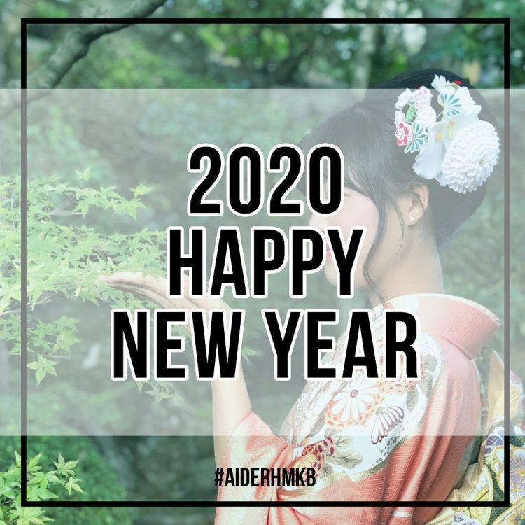 謹賀新年2020  旧年中は格別のお引き立てを賜り厚く御礼申し上げます 2020年も皆様に喜んでいただけるよう日々精進してまいります 本年もどうぞよろしくお願い申し上げます  AIDERスタッフ一同