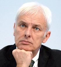 Маттиас Мюллер генеральный директор Volkswagen