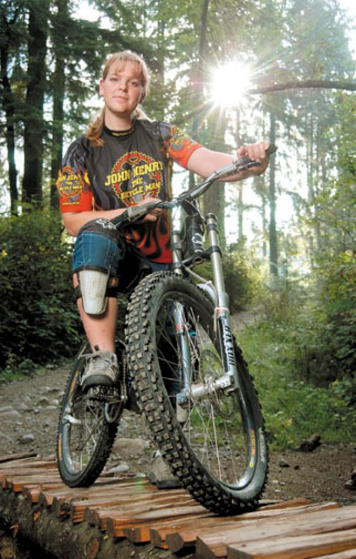 Michelle Dumaresq - Champion Downhill Mountain Bike Racer