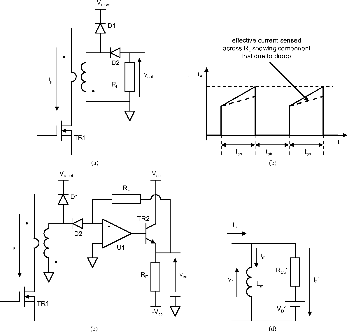 Figure 3 From Active Current Transformer Circuits For Low
