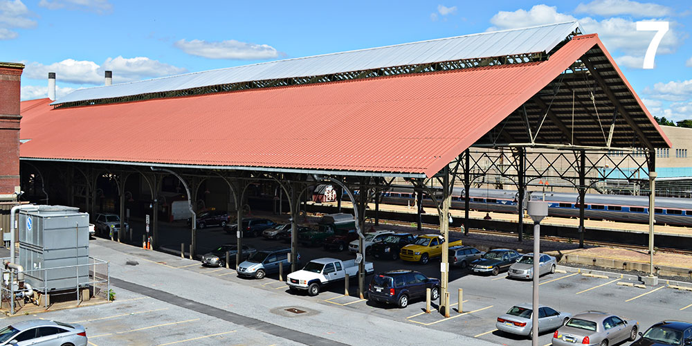 Harrisburg Train Shed, Harrisburg, PA Unknown / 1887