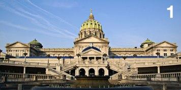 State Capitol Building, Harrisburg, Pennsylvania Joseph M. Huston / 1906