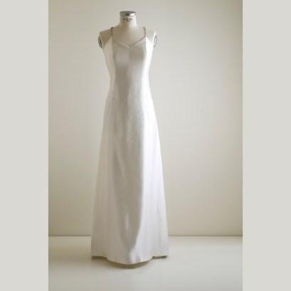 Ritka shantung -szaténból készült ruha