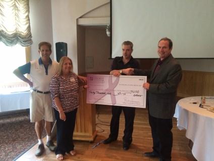 Foreman Donation at SVCC