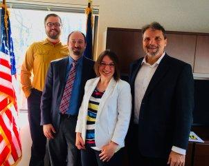 Raymond Bowman, Stephen Winikoff, Representative Lindsey Williams, Marc Mondor