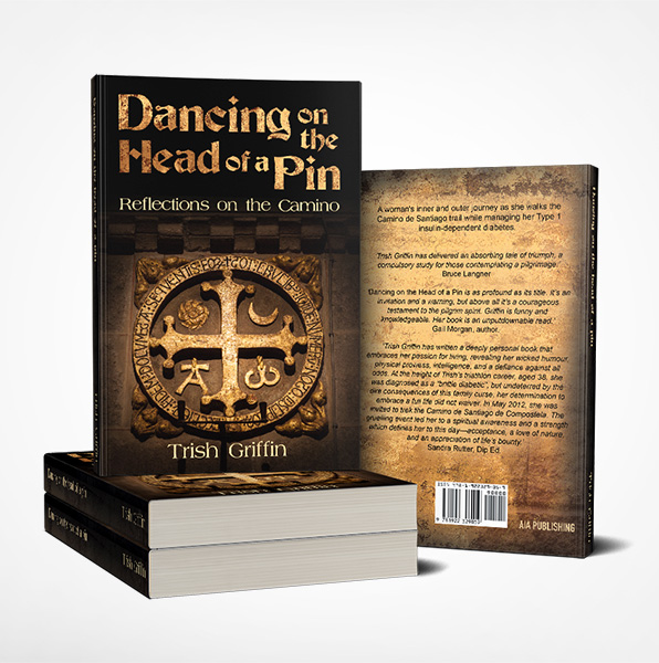 Dancing on the head of a Pin Book Cover Design
