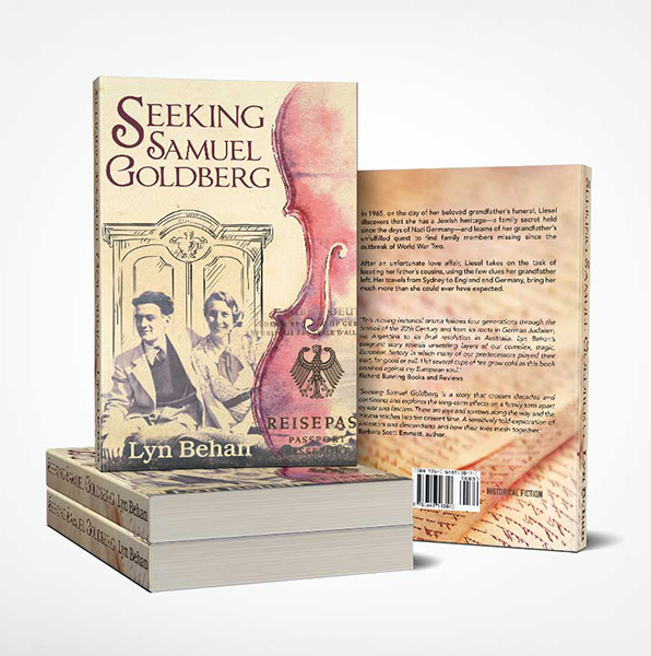 Seeking Samuel Goldberg Book Cover Design