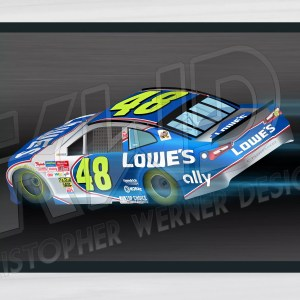 #JimmieJohnson #Nascar #Lowes #Ally #poster #hendrickmotorsports