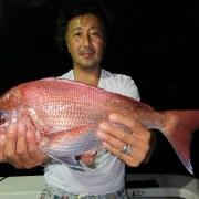 2017年8月14日(月) カイワリ、タイ、アジ五目釣り!