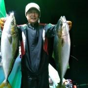 2017年10月11日(水) 夜サバ激釣!メジロ!マダイなど五目釣り!