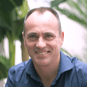 A headshot of Jordi Torras, CEO and founder of Inbenta, a NLP and chatbots company