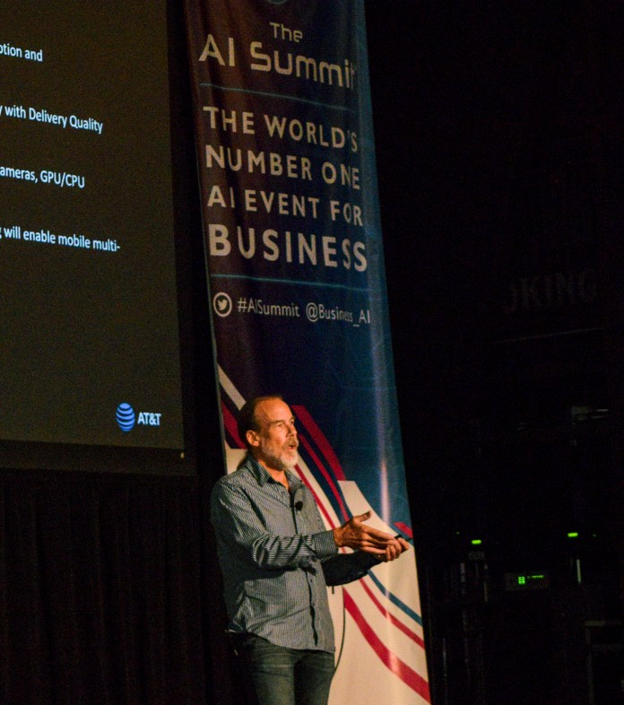 AT&T Speaker, Dr. Eric Petajan at Stream I AI Summit SF