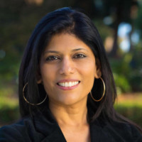 A headshot of Ekta Sahasi, VP of Konica Minolta's Business Innovation Center
