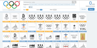 A screencap from Trademark.Vision, a leading brand protection platform