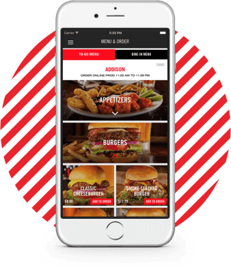 TGI Friday's mobile app sits at the centre of the company's AI efforts