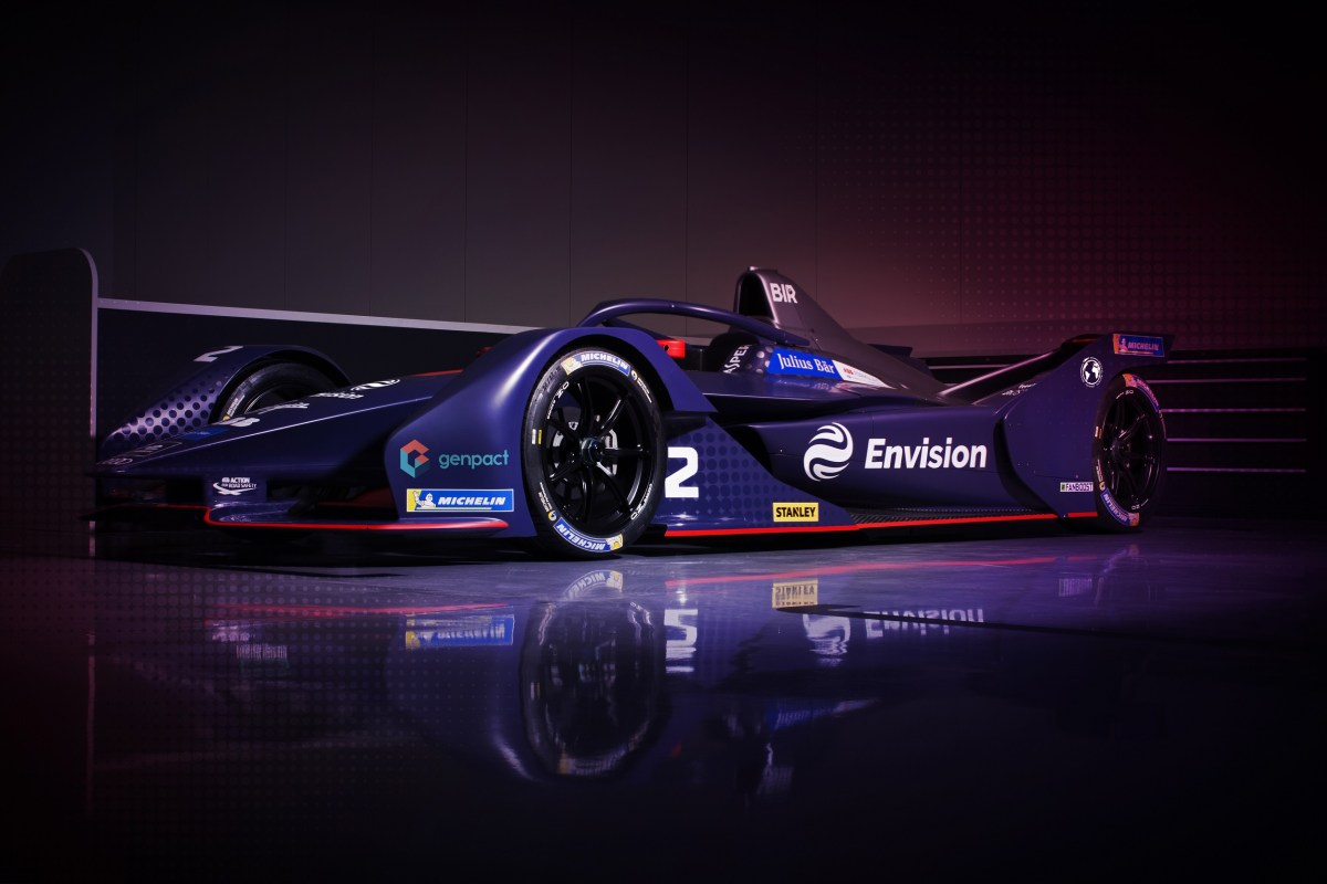 EXCLUSIVE: Genpact and Envision Virgin Racing Team Up To Enhance Performance In Electric Cars