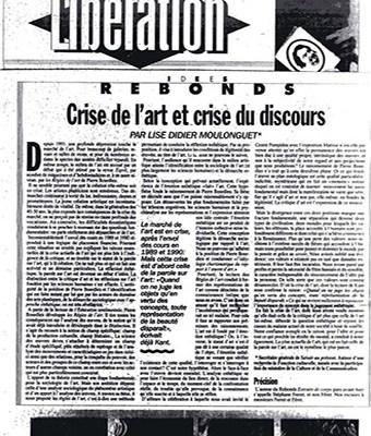 Historique de l'AICA (1990-1997) de Anne Dagbert