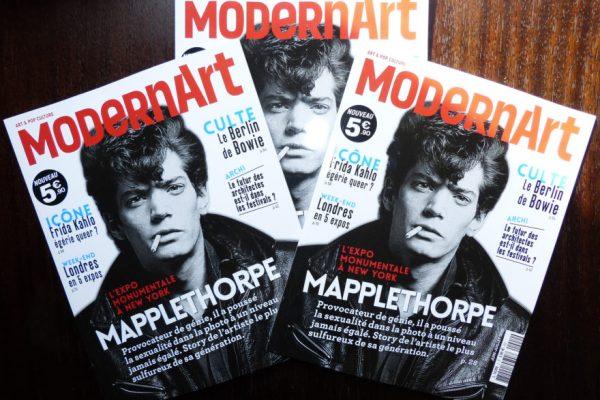 Parution du numéro 2 de Modern Art, magazine d'art et de pop culture