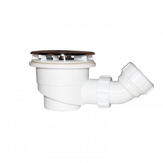 aica bonde de receveur bonde de douche 90 mm avec le siphon 90cm bonde de douche haut debit extra plate couverture chrome diametre 90mm aica grand