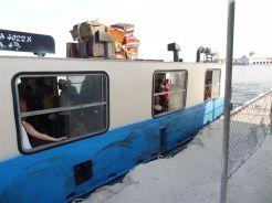 Le bateau entre Casa Blanca etLa Habana Vieja
