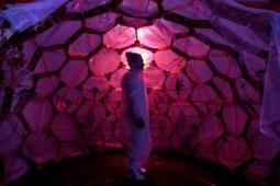 HenriTauliaut, Jungle Sphère - Performance d'Annabel Gueredrat - Centre Wifredo Lam Photo Ladyrene Perez, Cubadebate