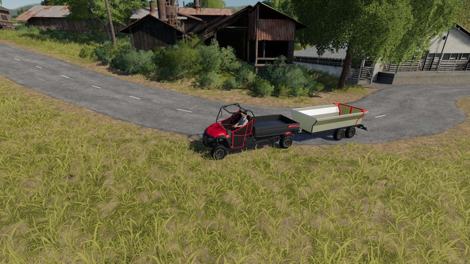 ATV TIPPER TRAILER - Farming Simulator 19 Mods - Ai Cave