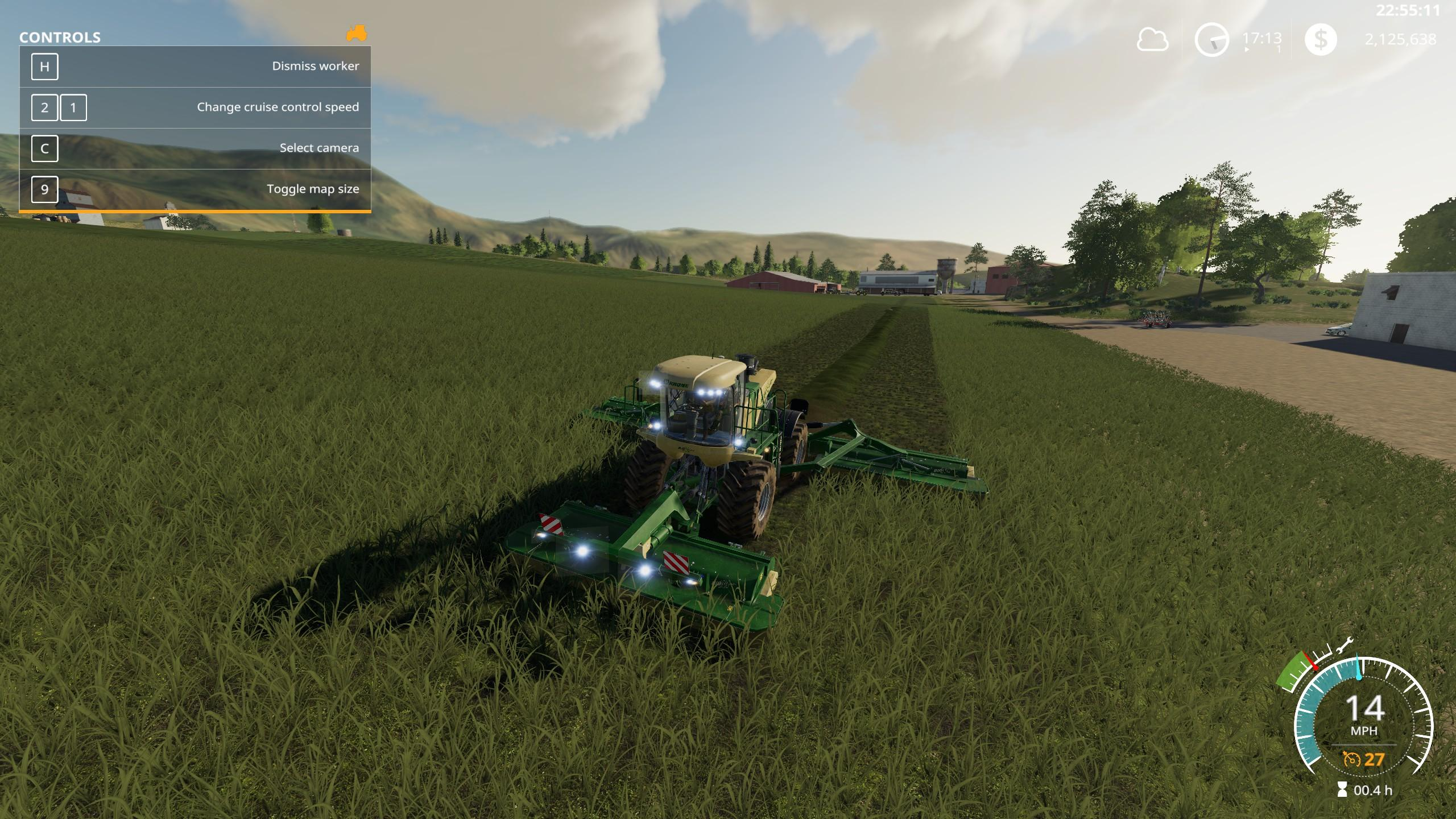 KRONE BIG M 500 - Farming Simulator 19 Mods - Ai Cave