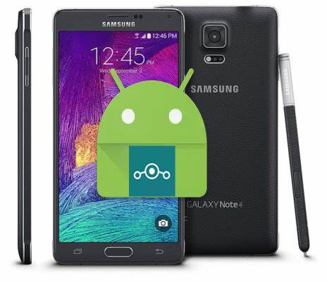 Samsung Galaxy Note 4 T-Mobile Lineage Nougat Unofficial ROM