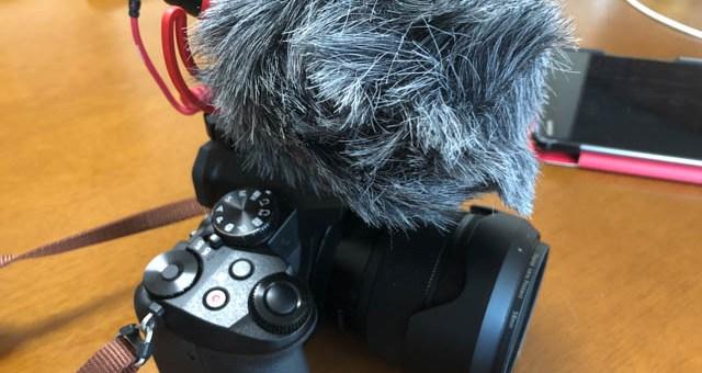 もふもふになったLUMIX G8(RODE VideoMicro装着)とGH5ではない理由