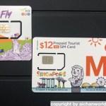 シンガポール一人旅 [4] オススメ現地SIM・MRTに電子マネーで乗る
