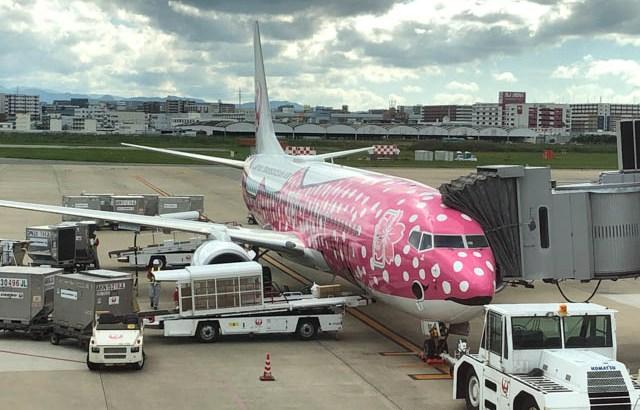 日本トランスオーシャン航空(JTA)のさくらジンベエジェット
