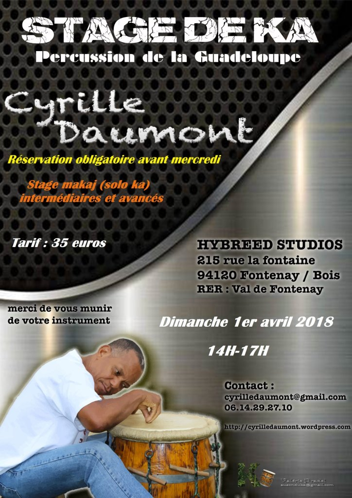 Stage de Ka - Cyrille Daumont - AICNF