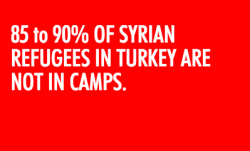 most refugees are not in camps