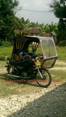 my mode of transportation when i need to go to Simpang or Medan town