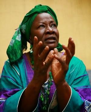 Aminata Traore, not Tolba Phanem