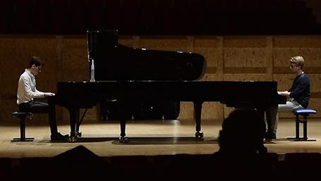 Aidan Mikdad and Ramon van Engelenhoven to perform Poulenc's Concerto for two pianos