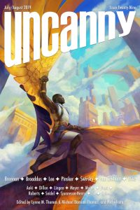 Cover for Uncanny Magazine #29