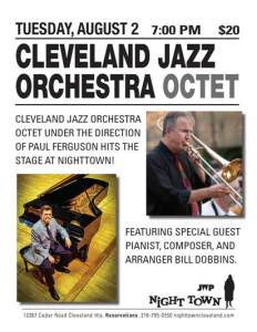 Cleve Jazz Orchestra poster
