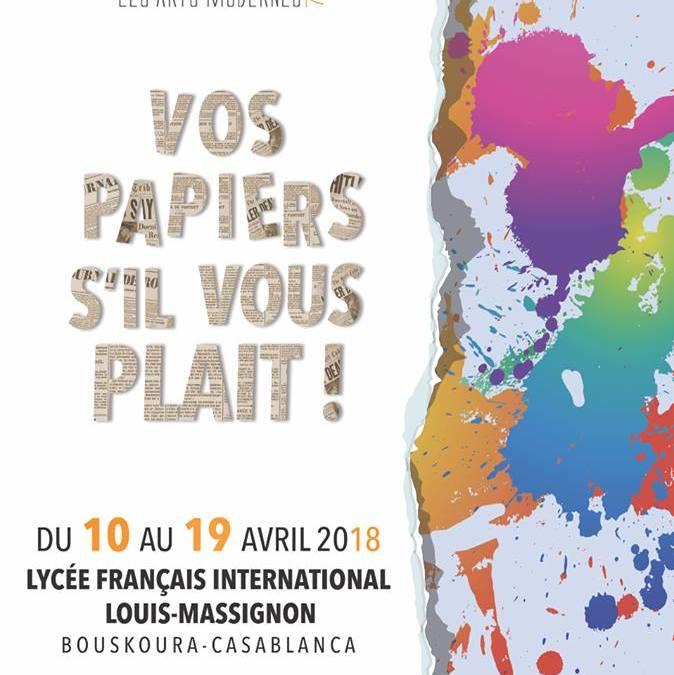 Exposition collective : Musécole à Casablanca