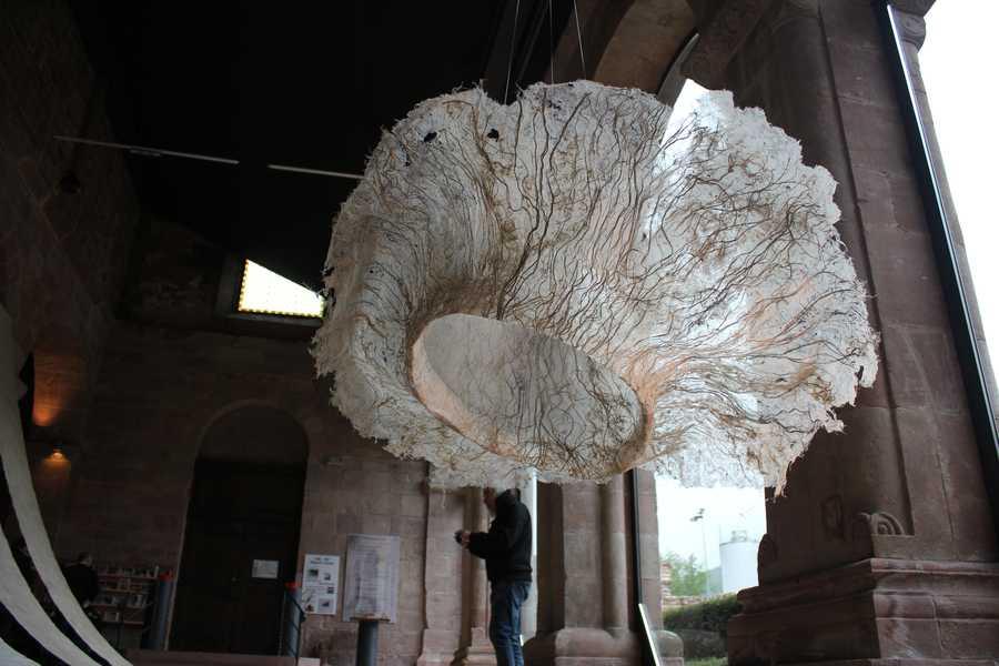 Papier sauvage Abbaye d'Alspach